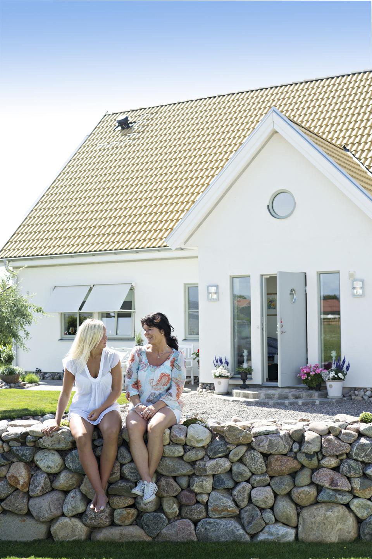 Lotta och dottern Linnea.