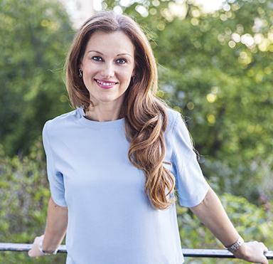 Paulina Draganja leder webbkursen Förvara smart, baserad på hennes bok med samma namn.