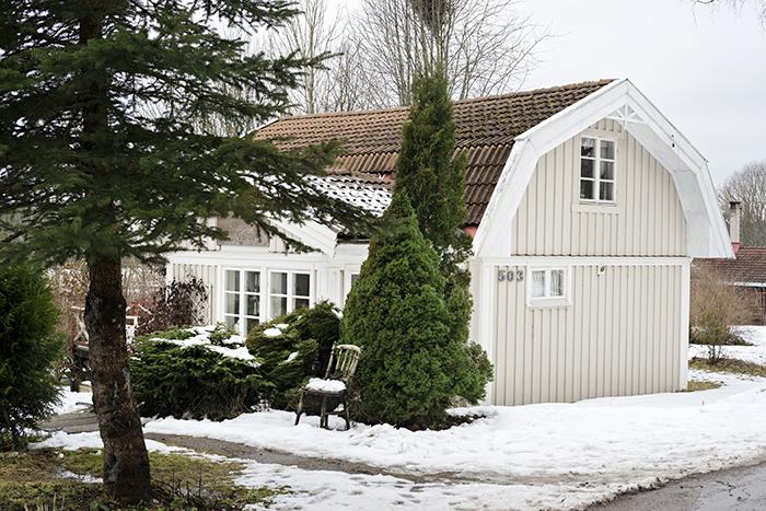 Sara och Niklas hus ligger i en liten by utanför Karlstad.