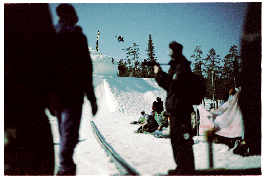 HP Parviainen Spedelinko-method at Wappulounas, Ruka, Kuusamo, 2009