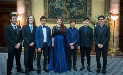 AMF Awardees at the Prize Winners' Celebration, Australia House, November 2016