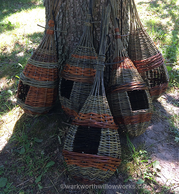 The ever popular Teardrop Bird Feeder - a one day workshop on May 23