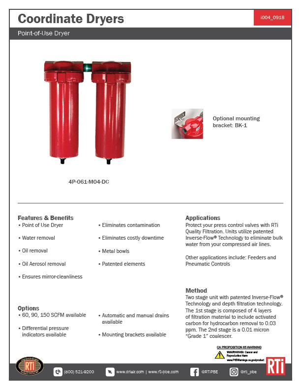 i004 Coordinate Dryers