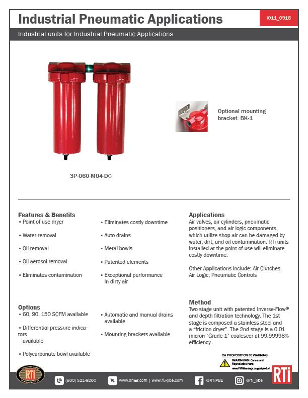i011 Industrial Pneumatic Applications