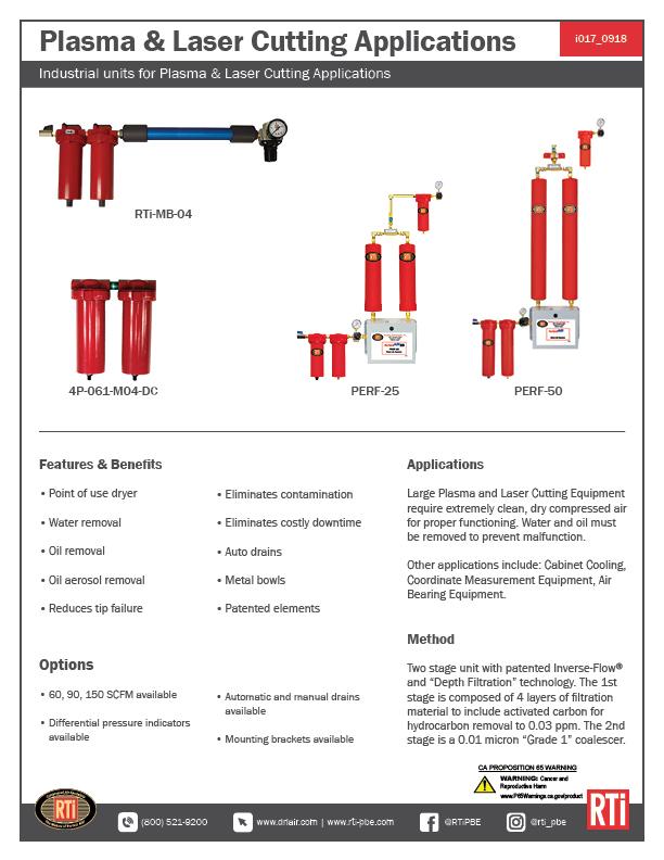 i017 Plasma/Laser Cutting Applications
