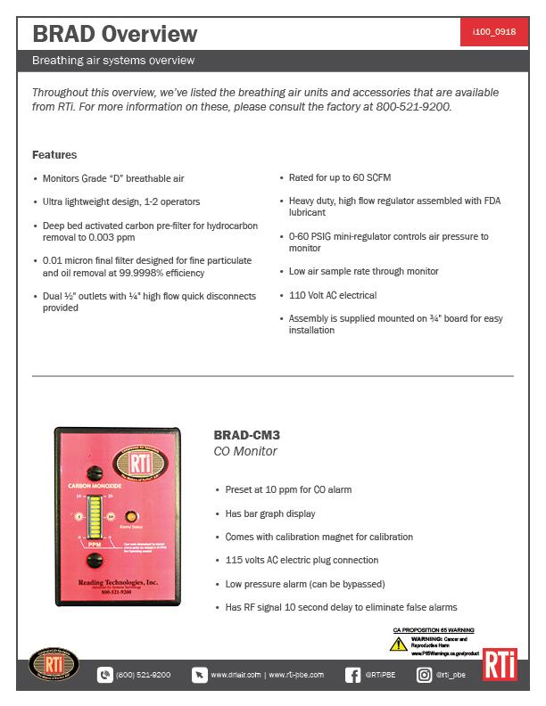 i100 BRAD Series Overview