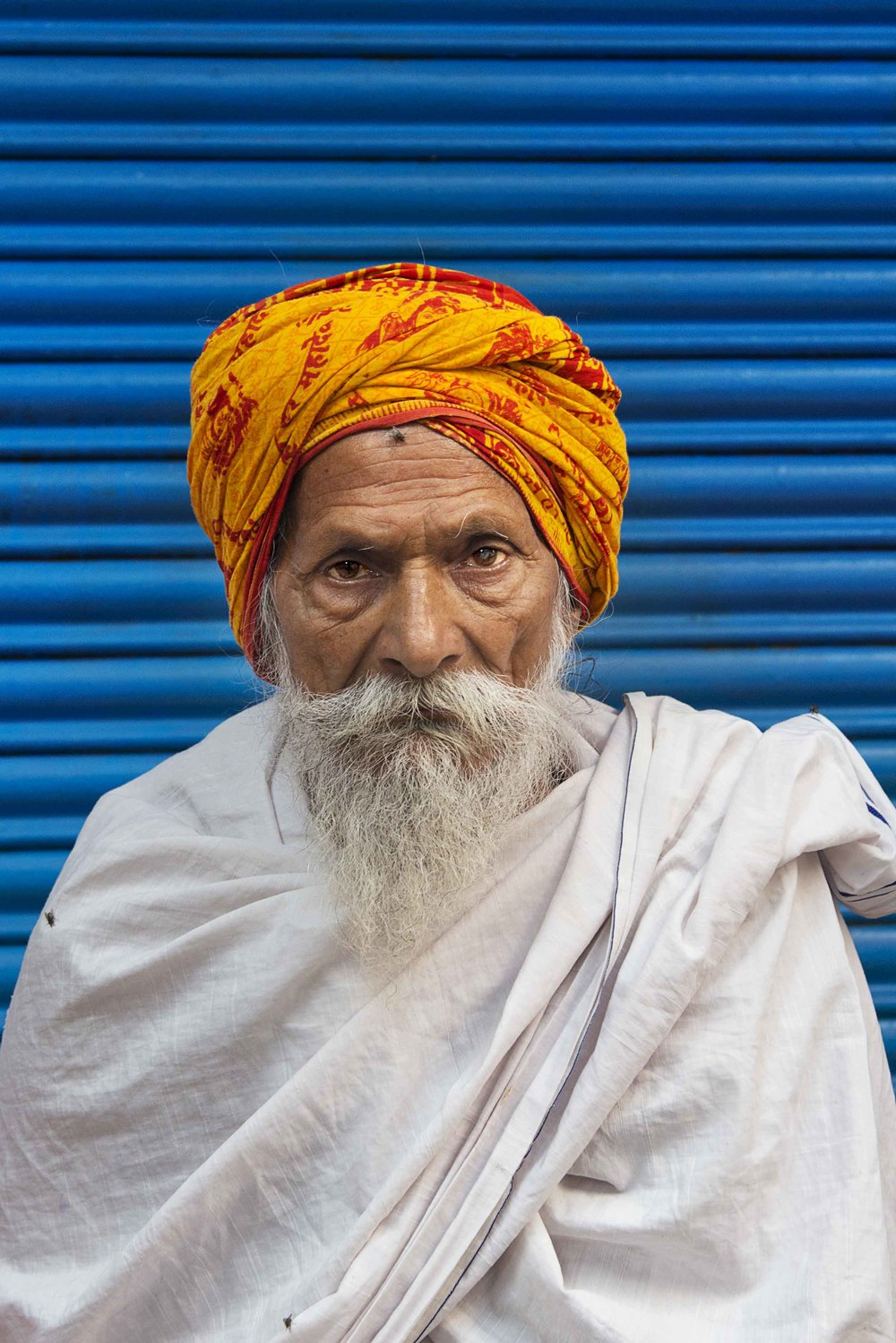 Last Sadhu. Heading to airport, flying to Kathmandu in a few hours Namaste Varanasi