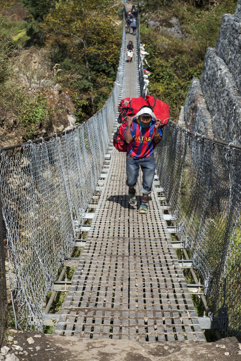 Last suspension bridge