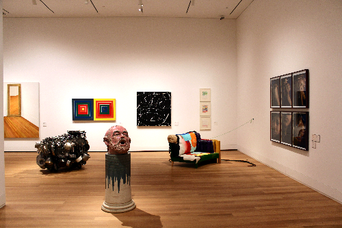 The contemporary gallery