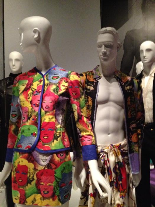 A Versace - Warhol colorful combination