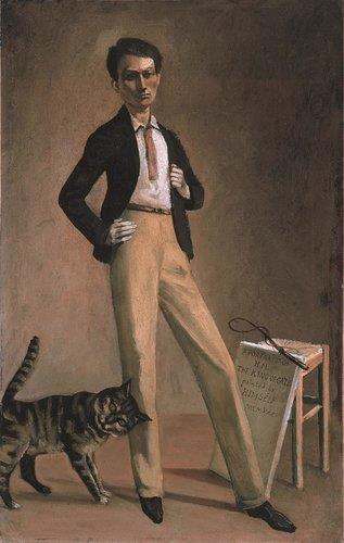 self-portrait by Balthus (Balthasar Klossowski de Rola)