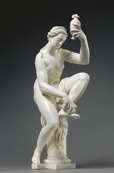 Female Figure, marble, Giambologna, Florence, Italy (1571-75) ©JPaulGettyMuseum