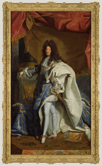 Portrait of Louis XIV, After Hyacinthe Rigaud (French, 1659 - 1743), France, after 1701, oil on canvas