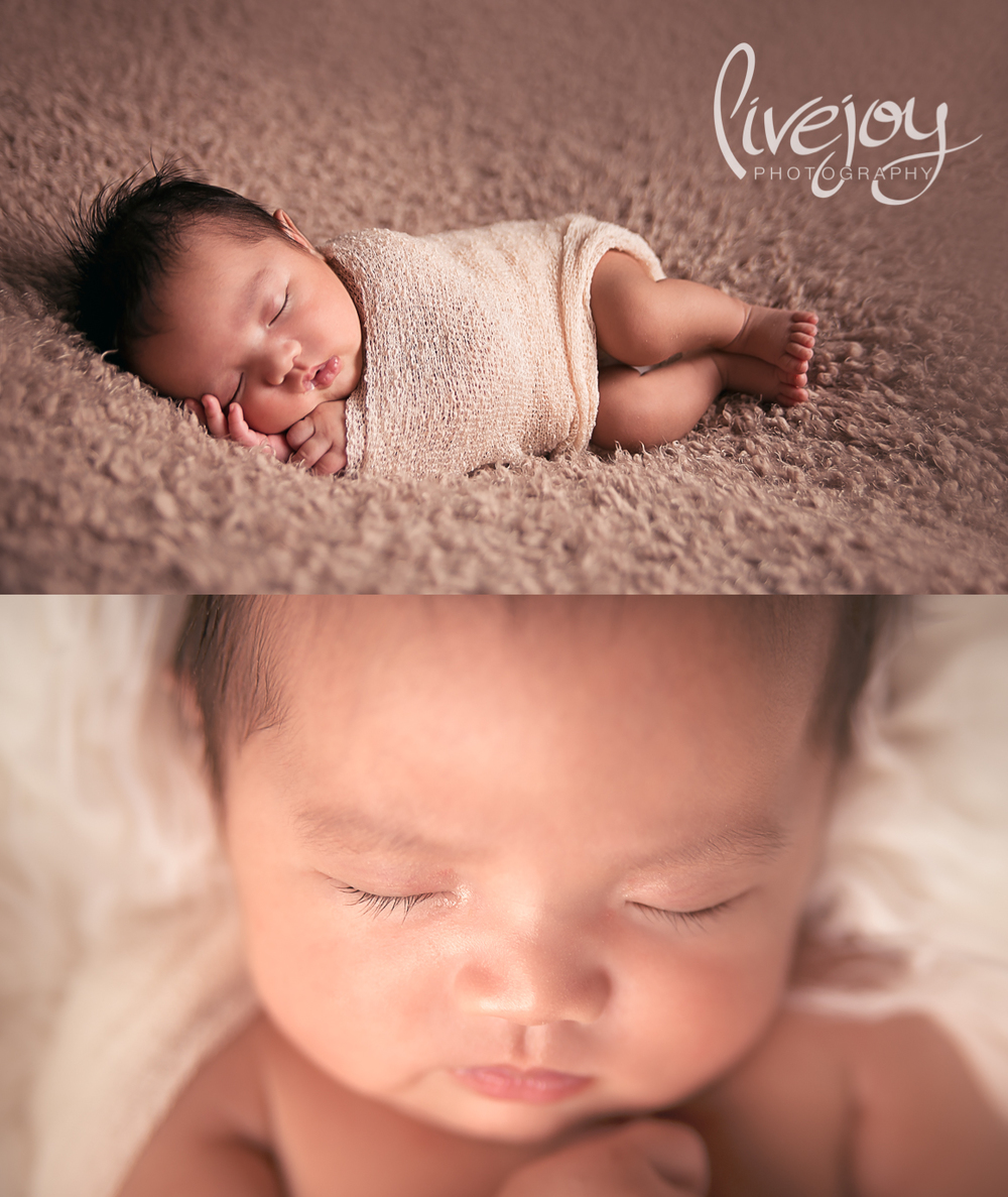 1 Month old Newborn Baby Photography Session | Salem, Oregon | LiveJoy Photography