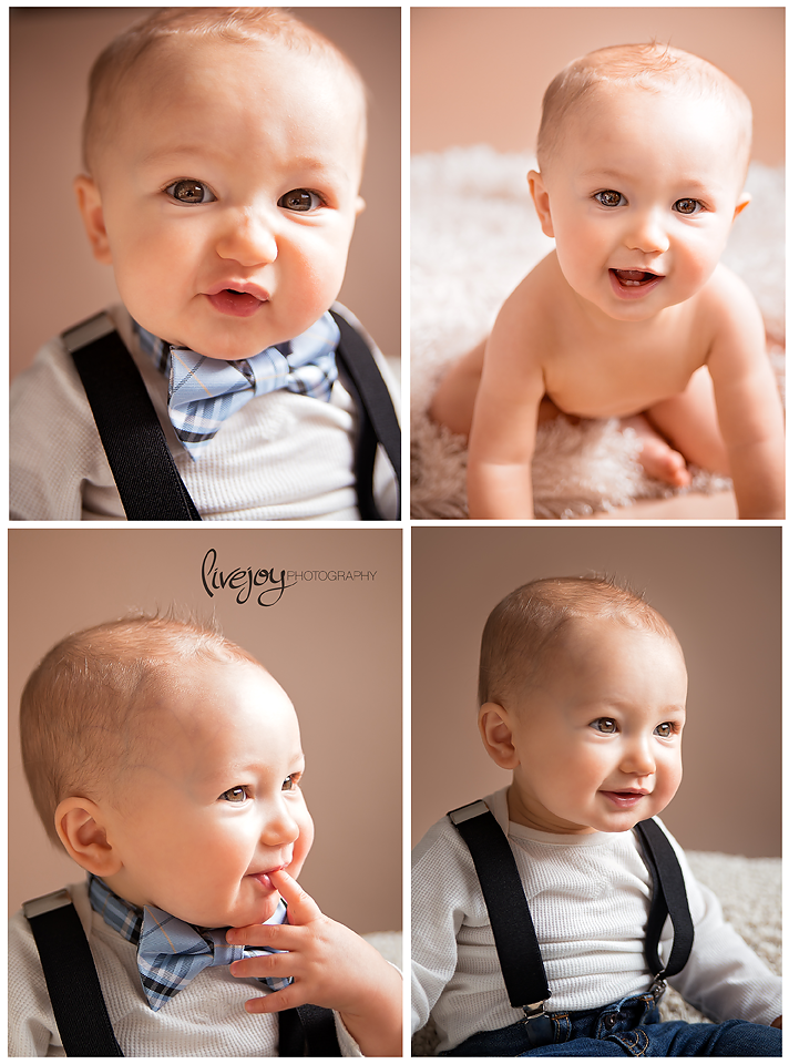 9 Months Studio Baby Photos | Oregon | LiveJoy Photography