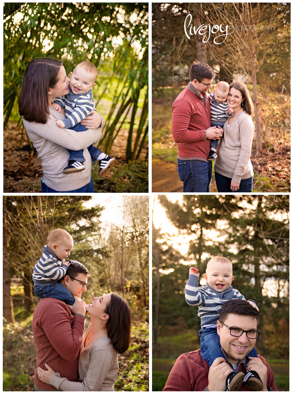 One Year Baby Photos | Oregon | LiveJoy Photography
