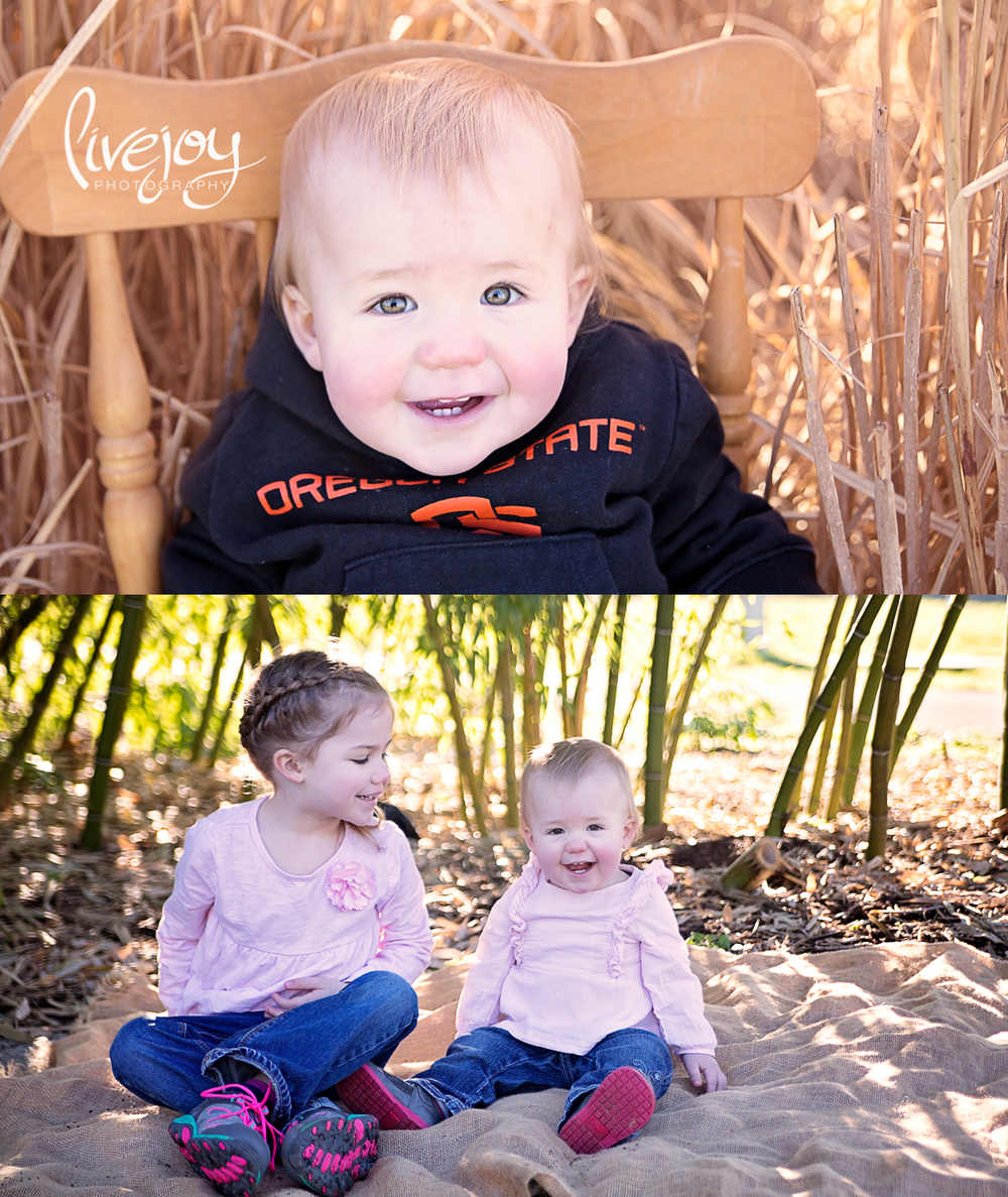 1 Year and Sibling Baby Photography | Salem, Oregon | LiveJoy Photography