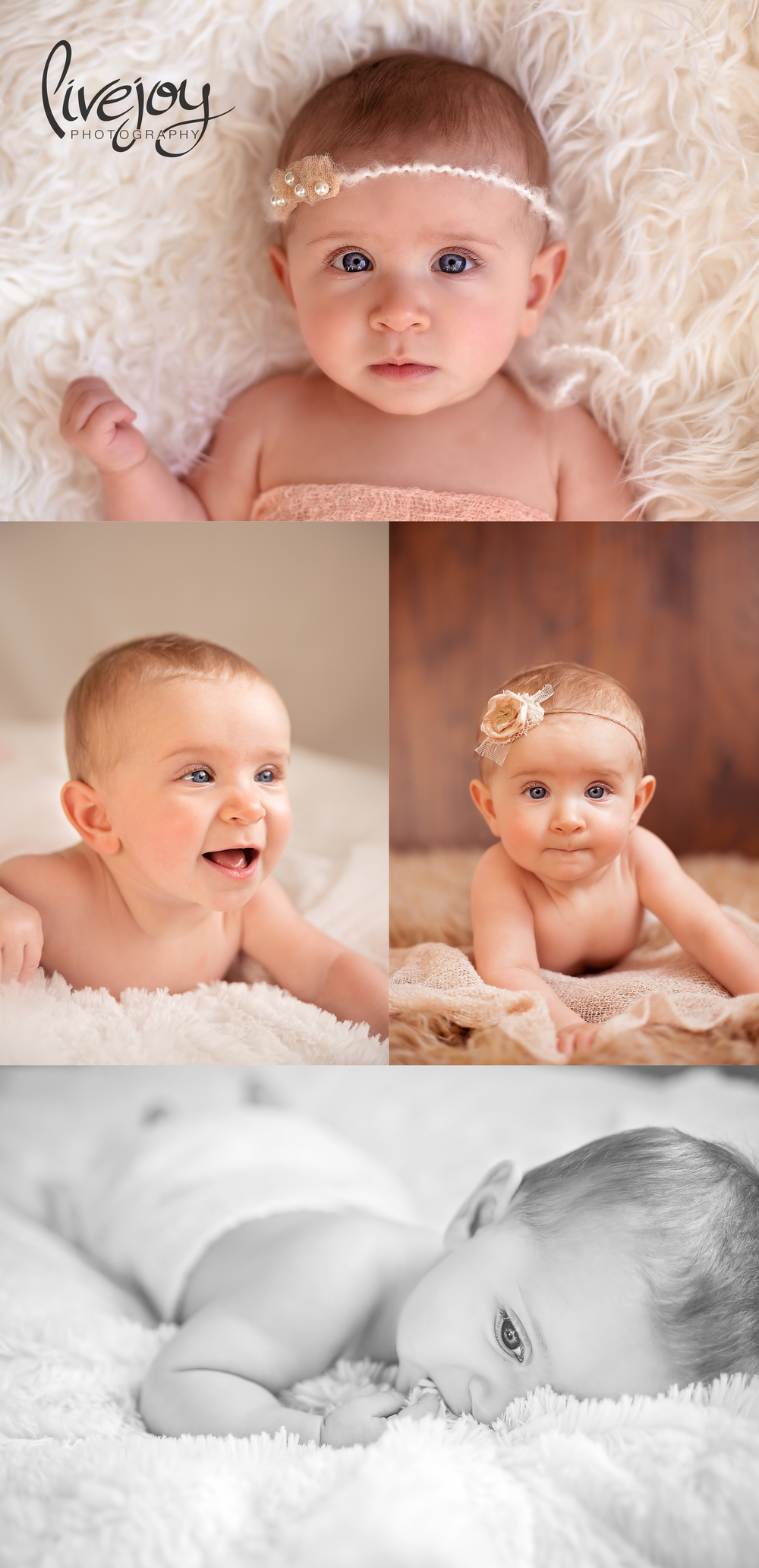 6 Months Baby Photography | Salem, Oregon | LiveJoy Photography