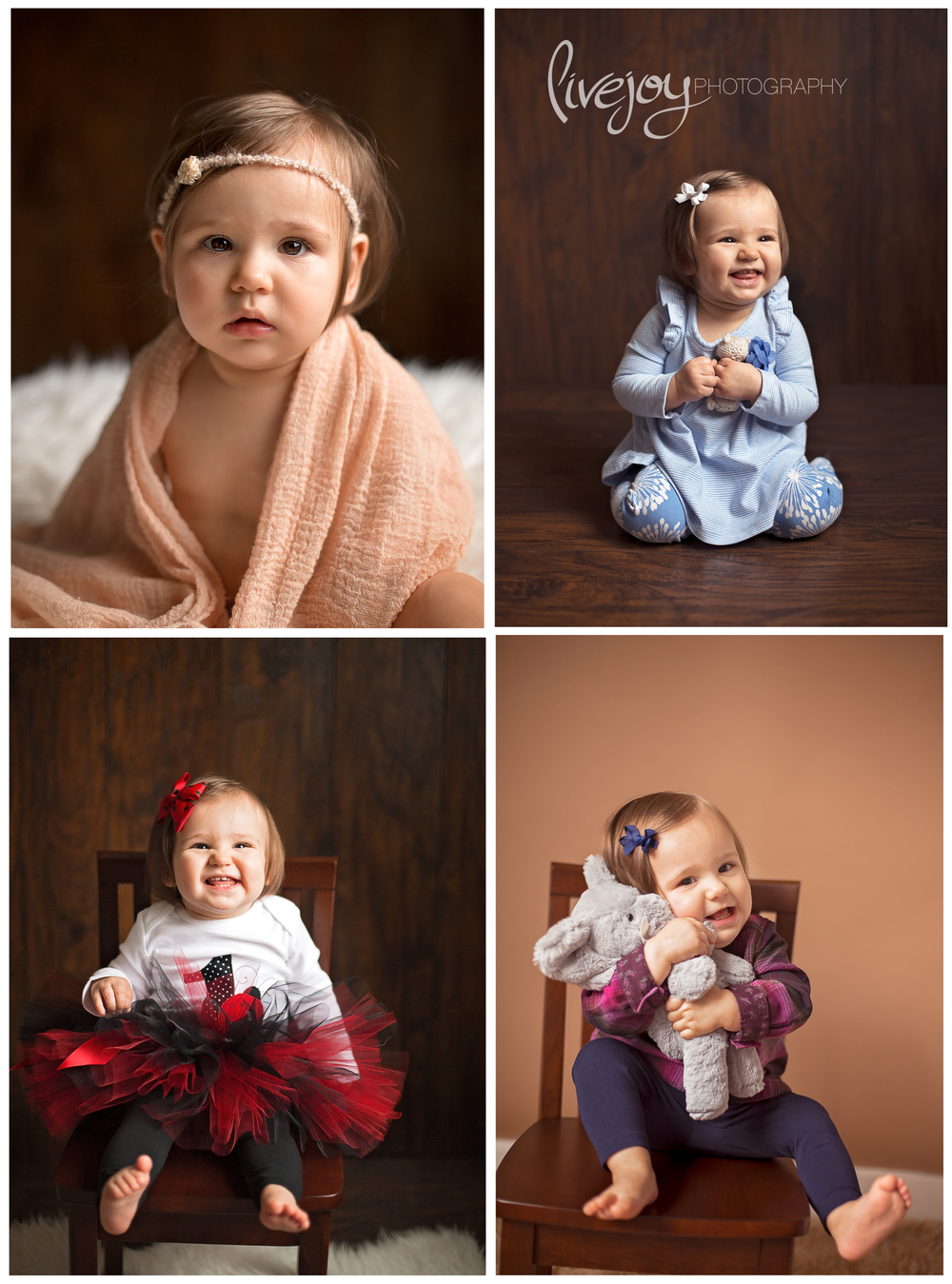 One Year Baby Photography | Oregon | LiveJoy Photography