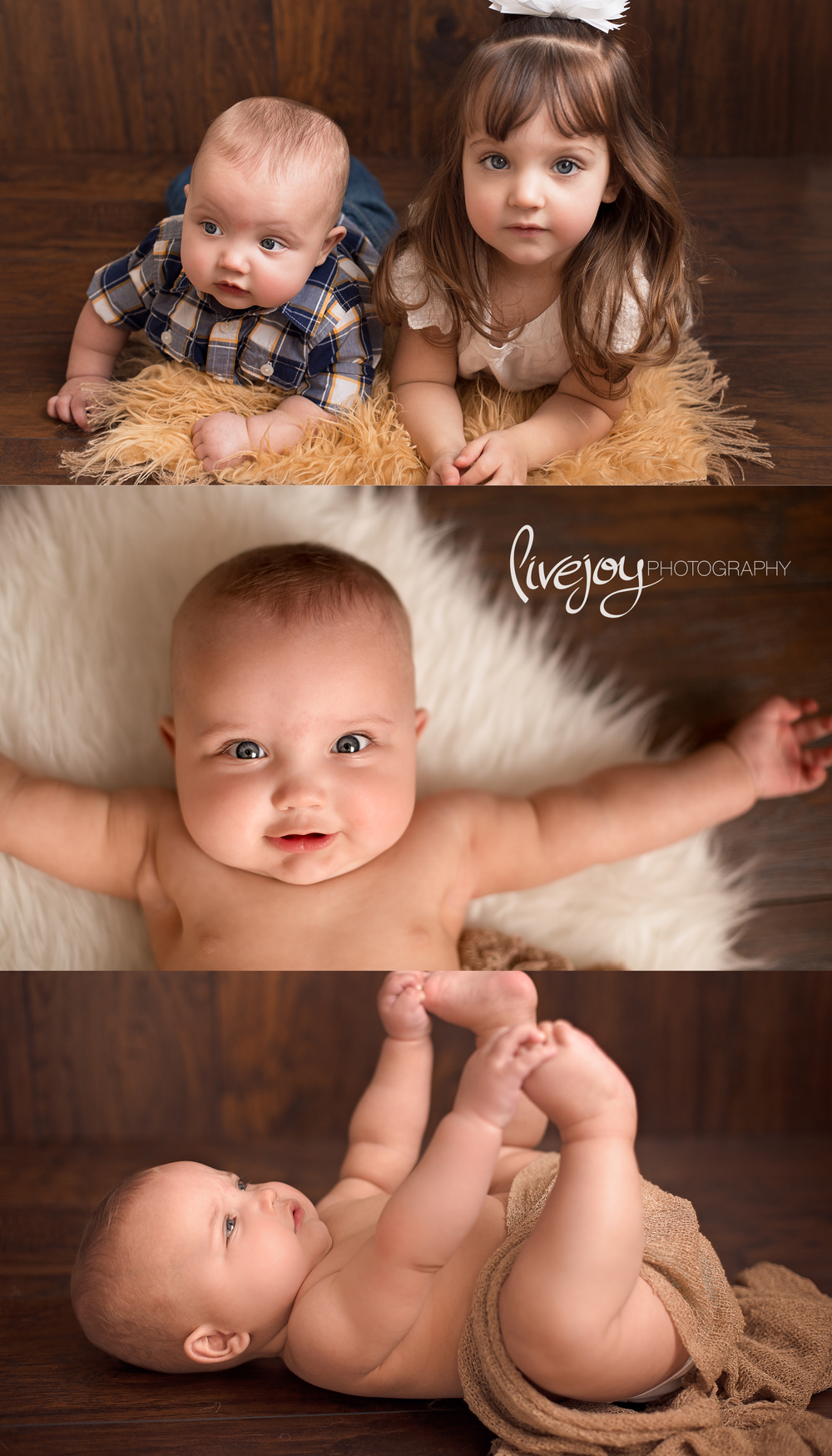 6 Months old Baby Photography | Oregon | LiveJoy Photography