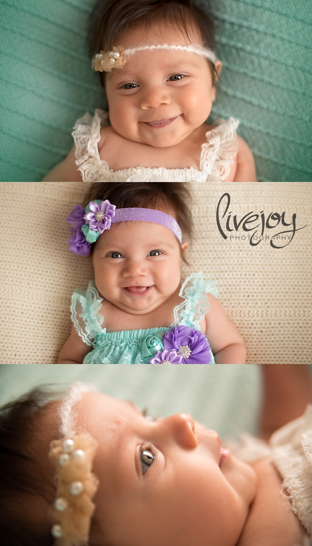 3 Month Baby Photos | LiveJoy Photography | Oregon