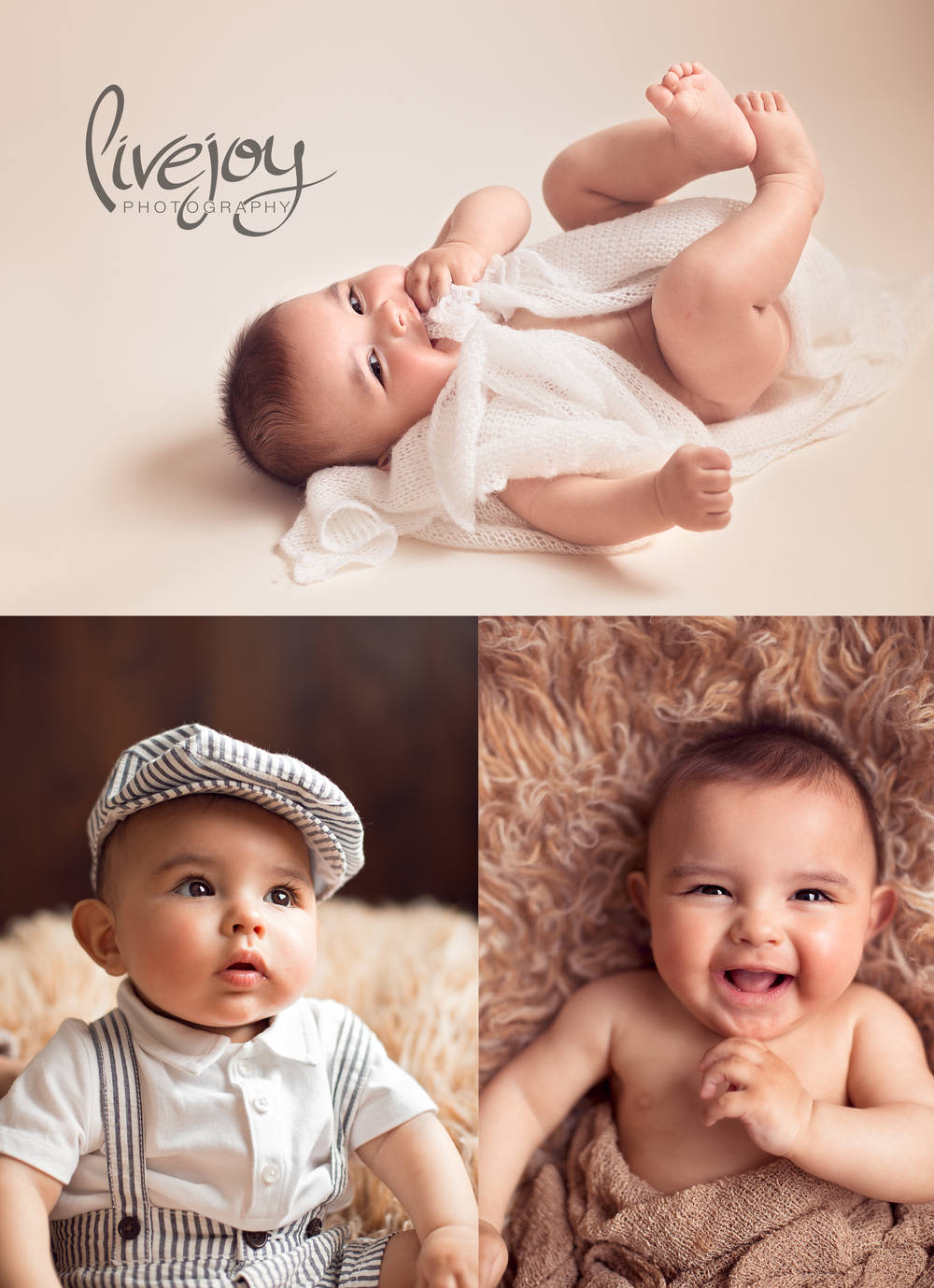 6 Month Baby Milestone Photography | Oregon | LiveJoy Photography
