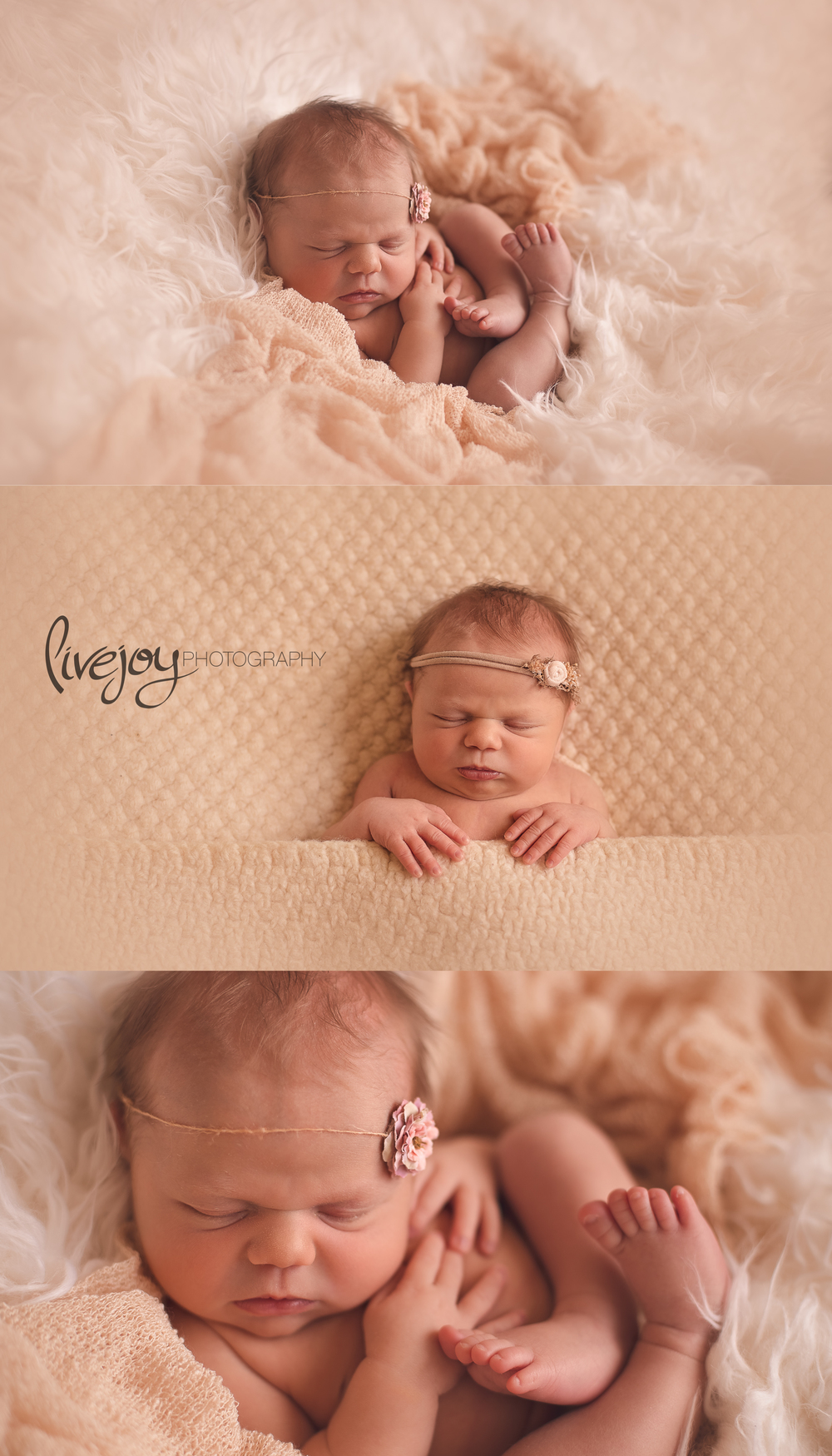 Newborn Girl Photography | Oregon | LiveJoy Photography