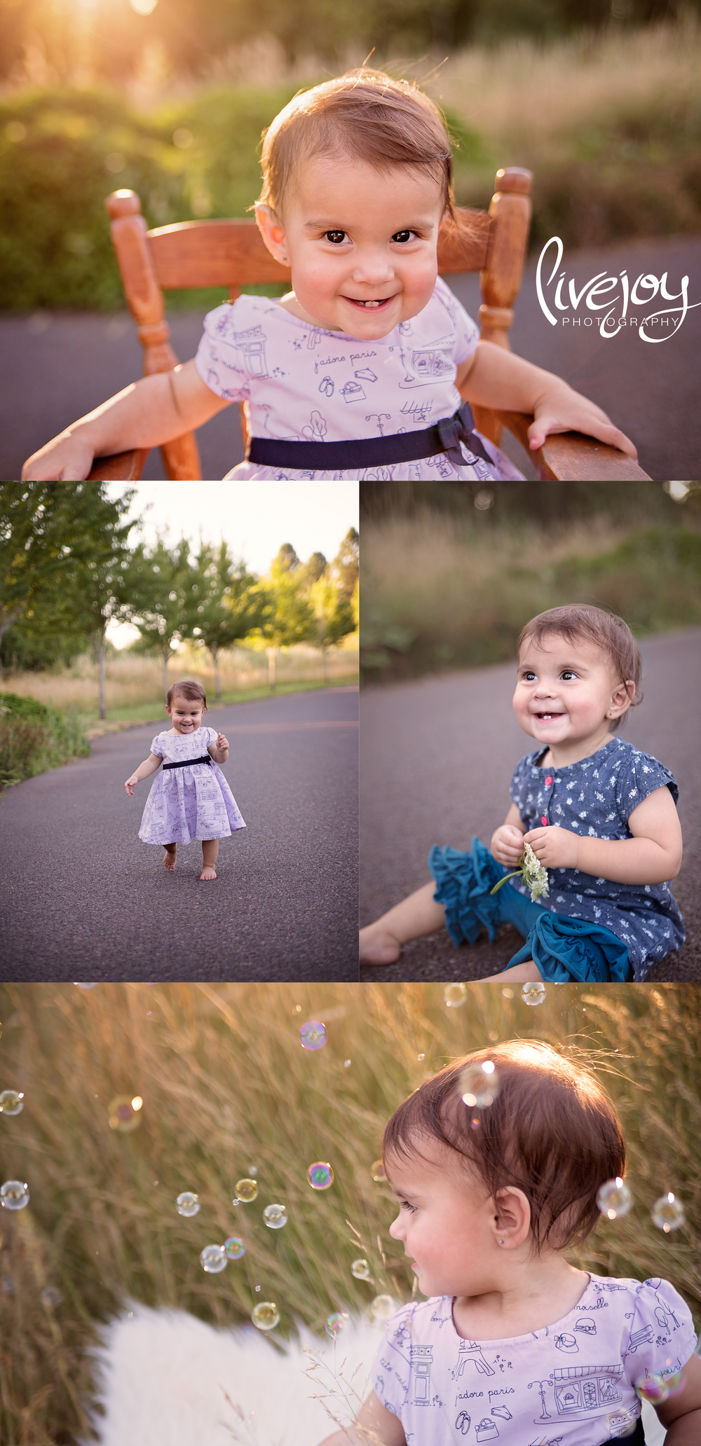 1 Year Baby Girl Photography | Oregon | LiveJoy Photography