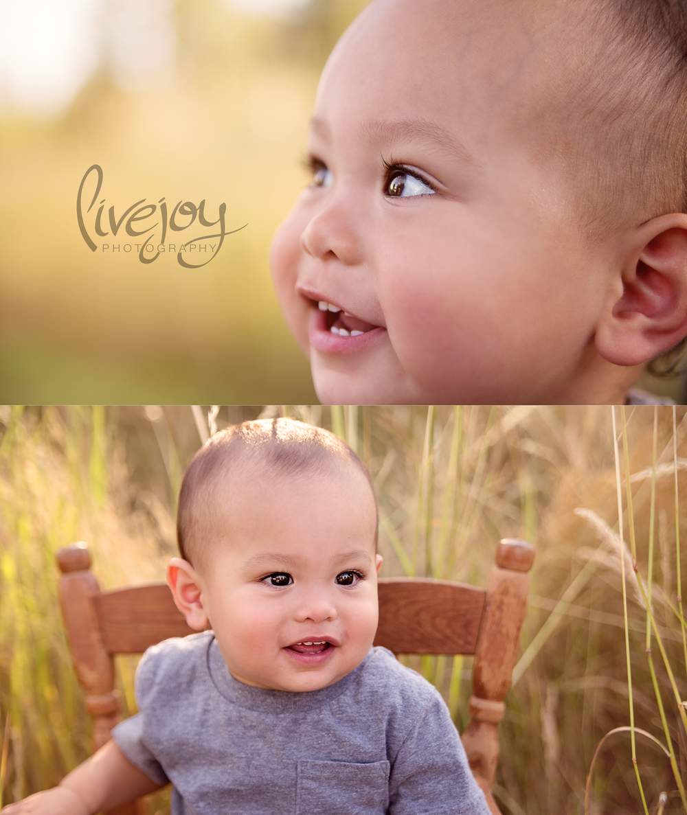 One Year Baby Boy | Salem, Oregon | LiveJoy Photography