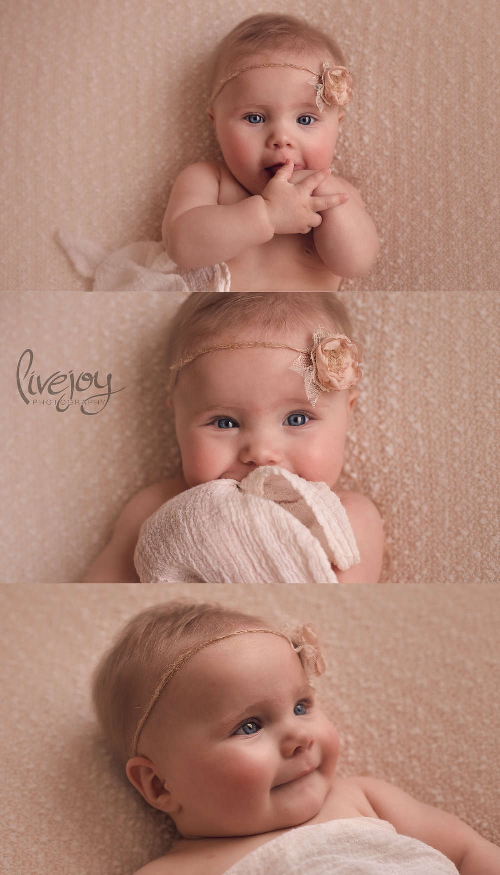 6 Month Baby Milestone | LiveJoy Photography | Salem Oregon