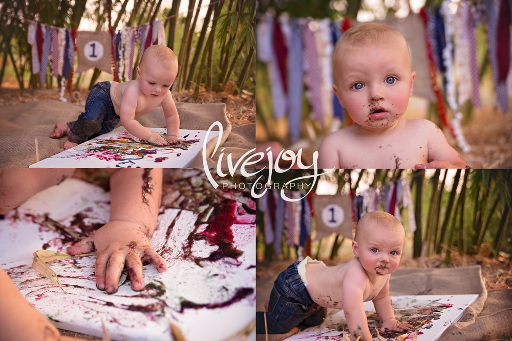 1 Year Baby Boy Milestone | LiveJoy Photography | Oregon