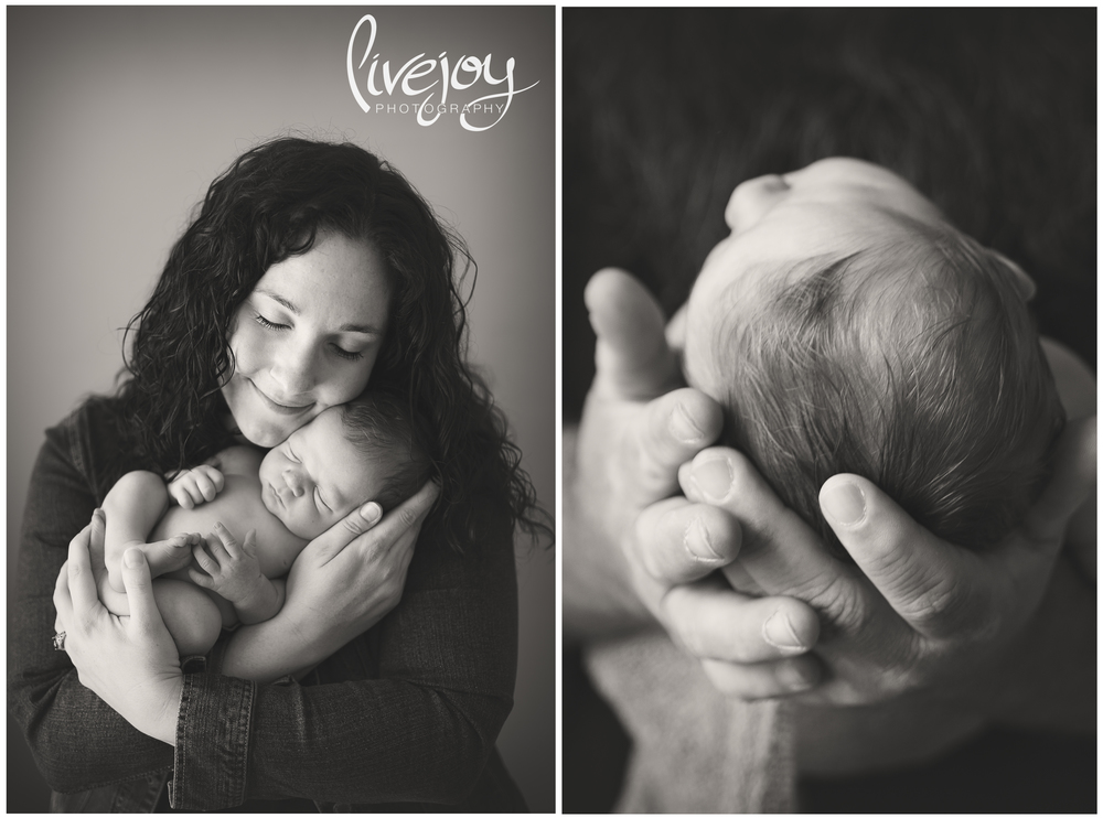 Newborn Parents Photography | Salem, Oregon | LiveJoy Photography