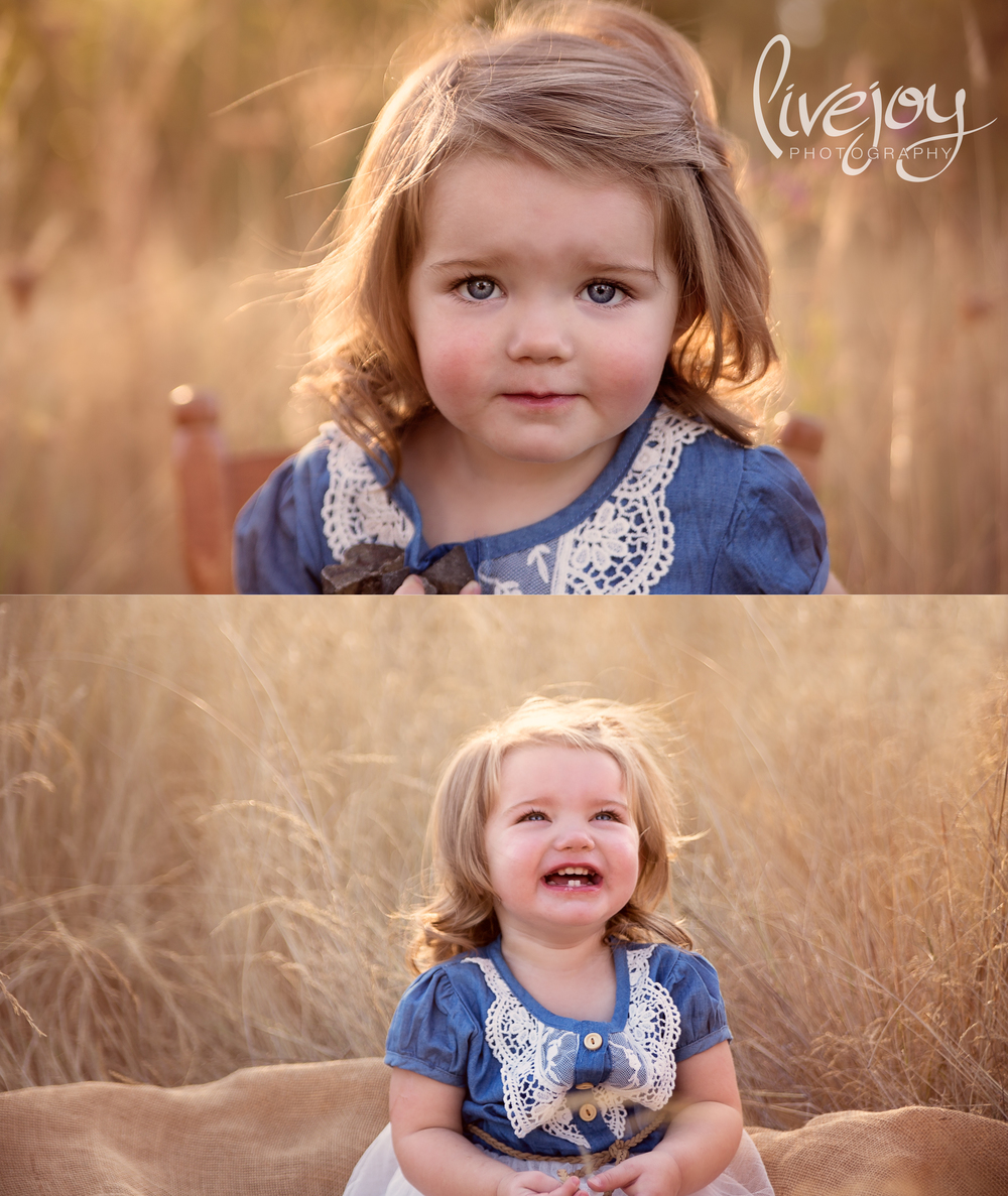 2 Year Baby Milestone Sessions | LiveJoy Photography | Oregon