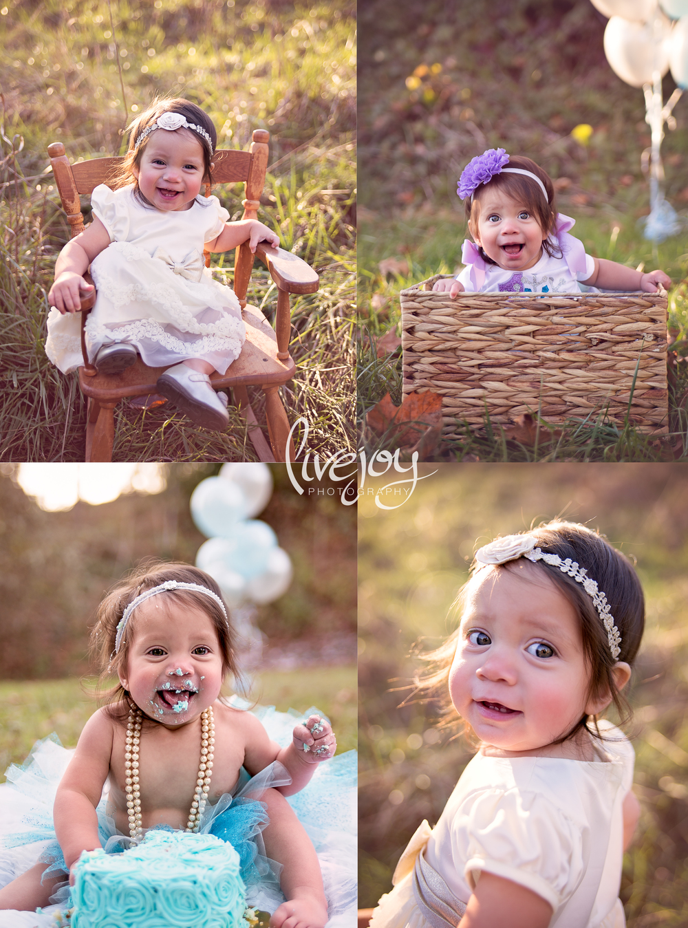 One Year Baby Photography | Cake Smash | LiveJoy Photography | Oregon