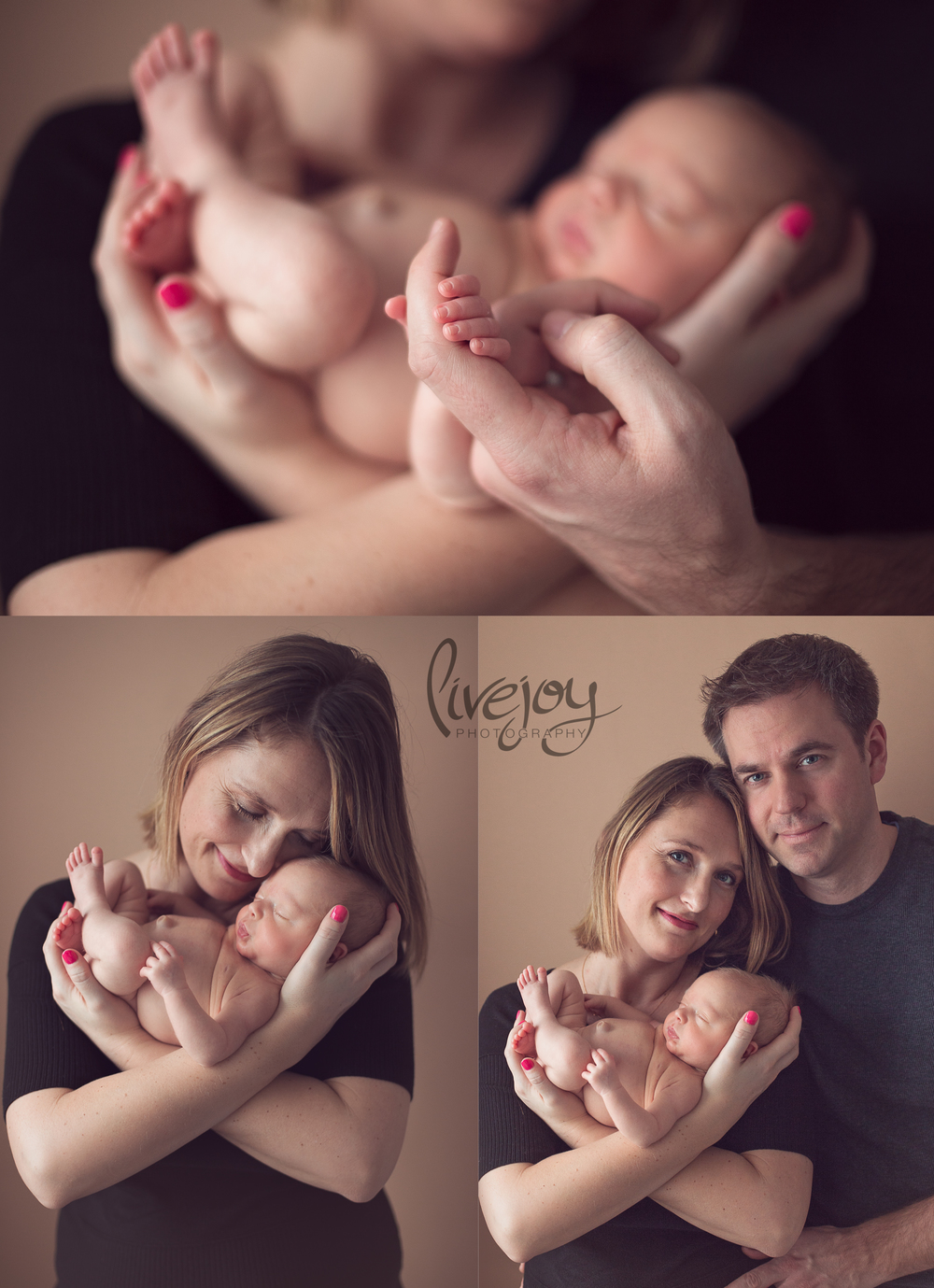 Newborn Photography with Parents | LiveJoy Photography