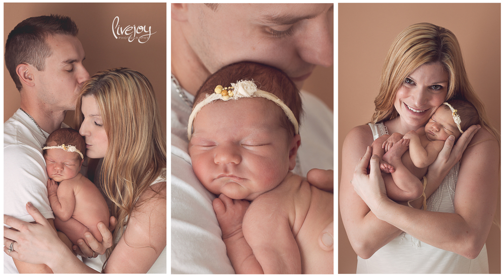 Newborn Parent Photography | Oregon | LiveJoy Photography