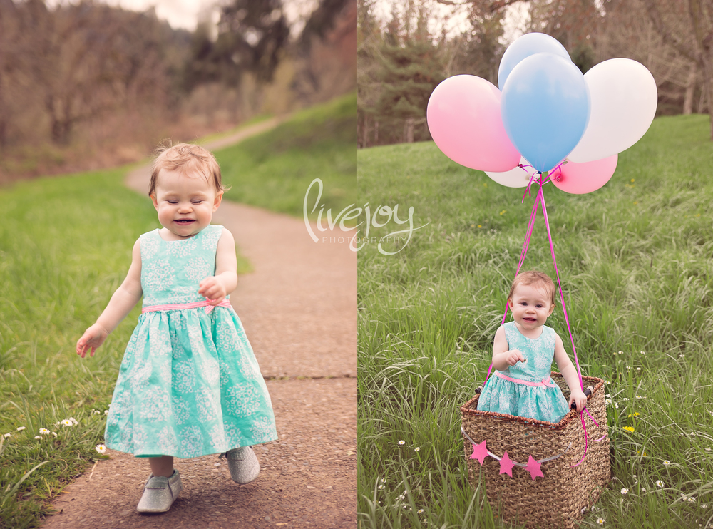 One Year Baby Photography | Salem, Oregon | LiveJoy Photography