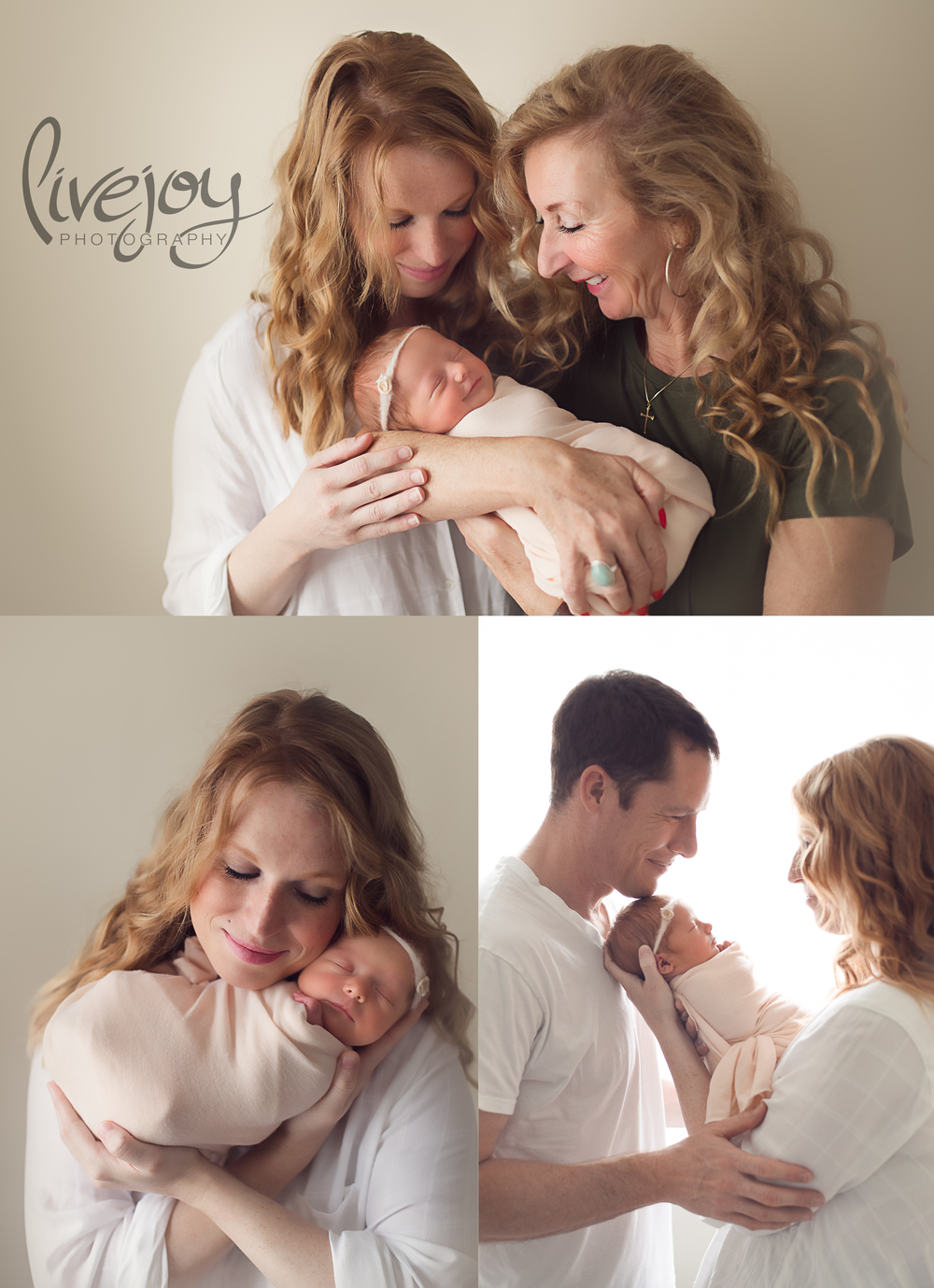 Newborn Parent Photography - LiveJoy Photography - Oregon