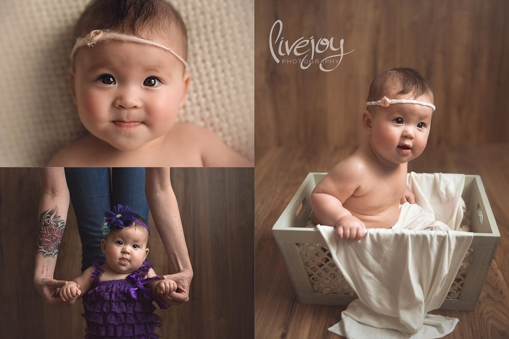 Baby Photography 6 Months | Oregon | LiveJoy Photography