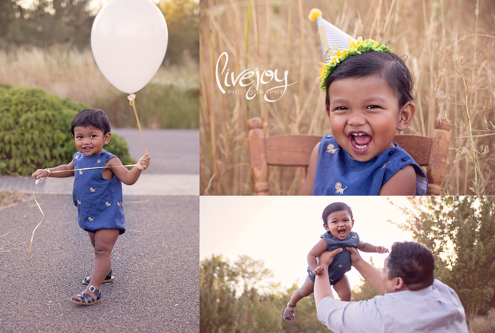 One Year Baby Session | LiveJoy Photography | Oregon
