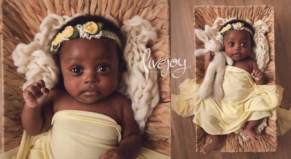 1 month Baby Photography | Oregon | Livejoy Photography