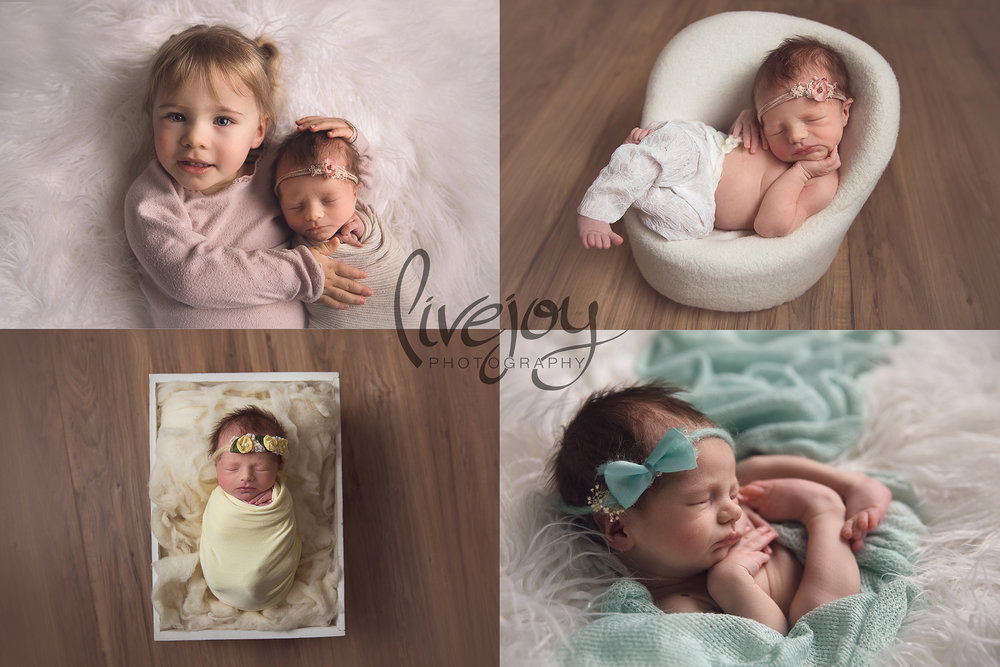 Girl Newborn Photography | Oregon | LiveJoy Photography