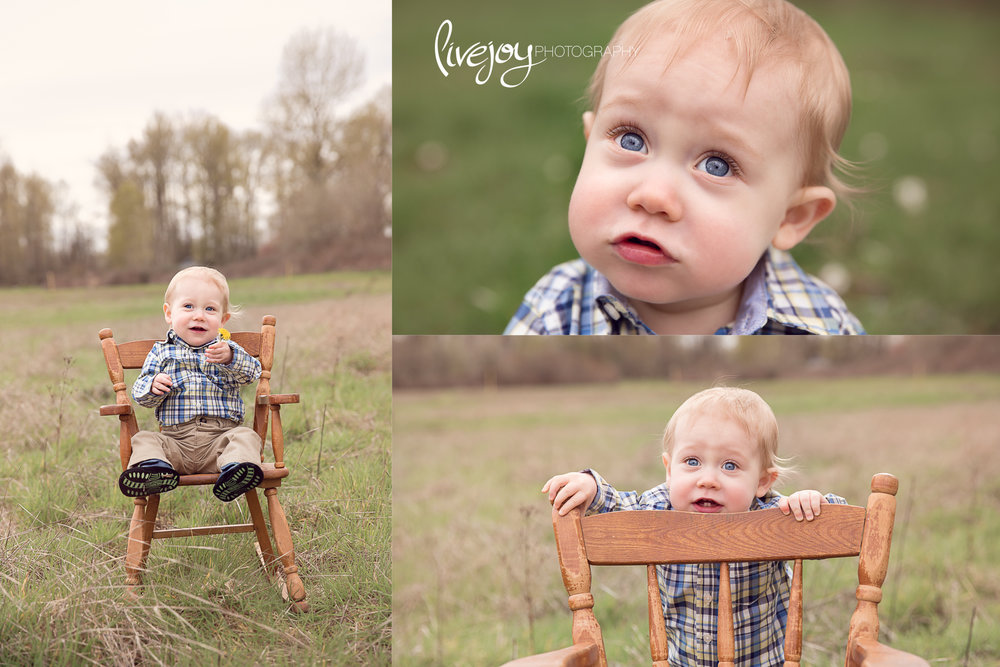 One Year Old Baby Photos | Oregon | LiveJoy Photography