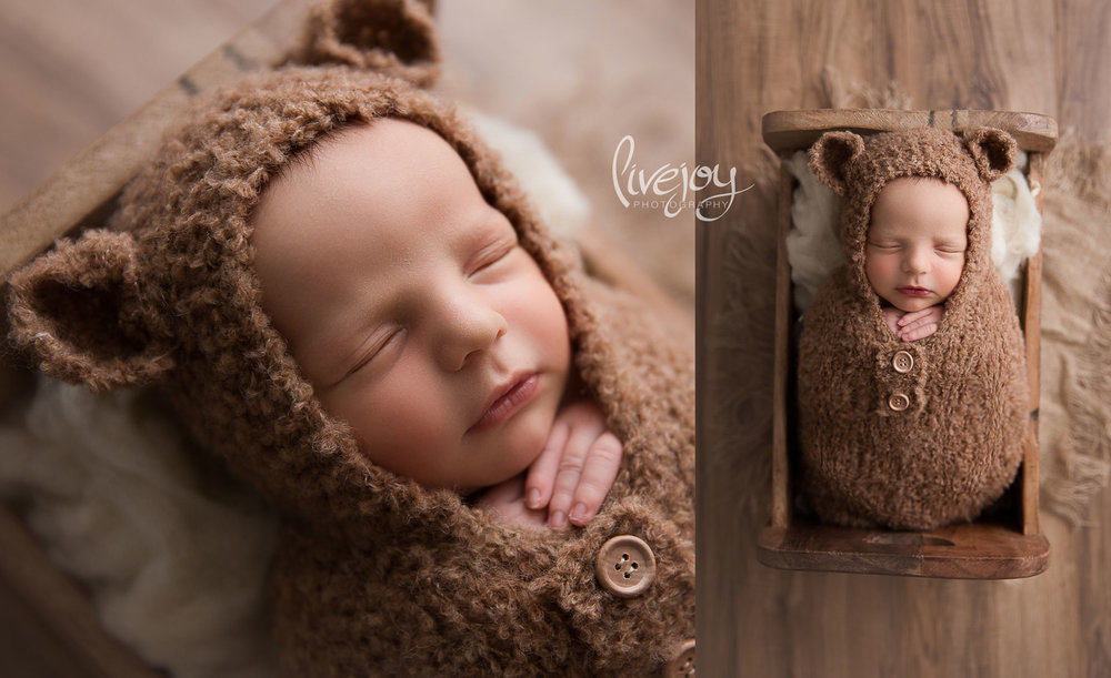 Newborn Photography | Oregon | Little Bear | LiveJoy Photography