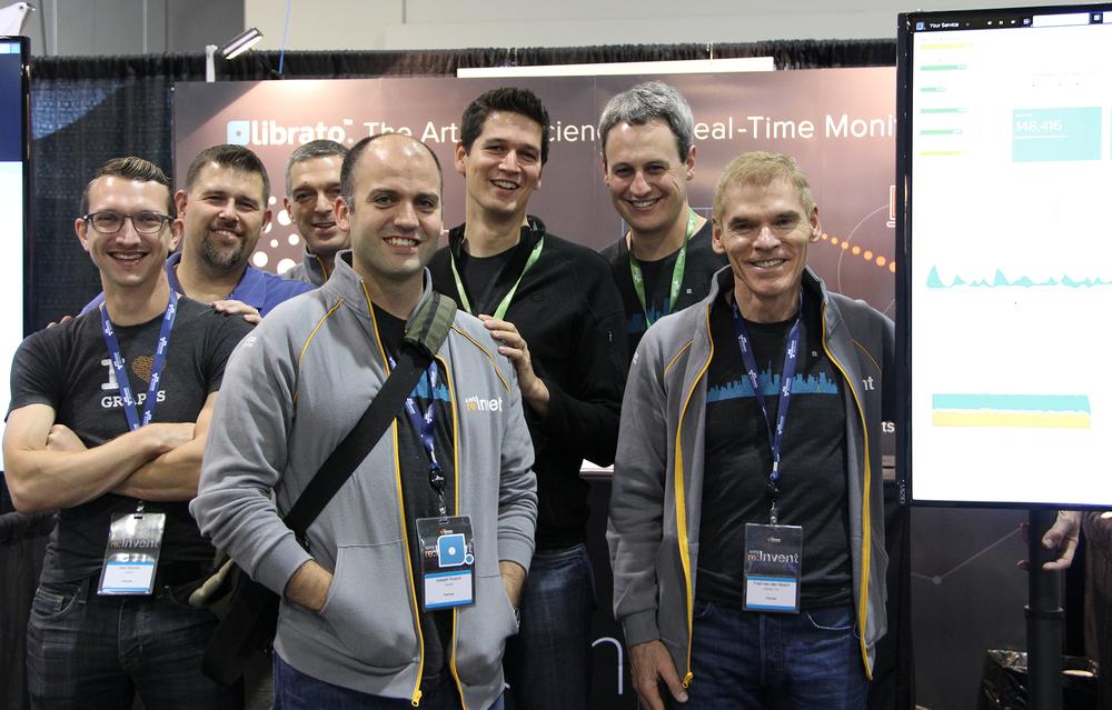Team Librato at AWS re:Invent