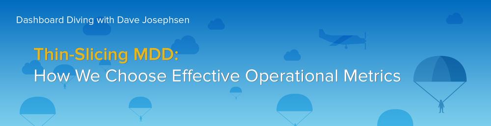 MDD-Operational-Metrics