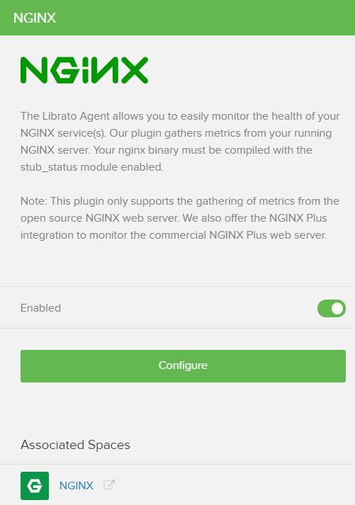 Fig 7. NGINX Configuration