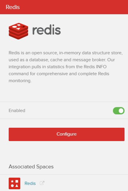 Fig 7. Redis Configuration