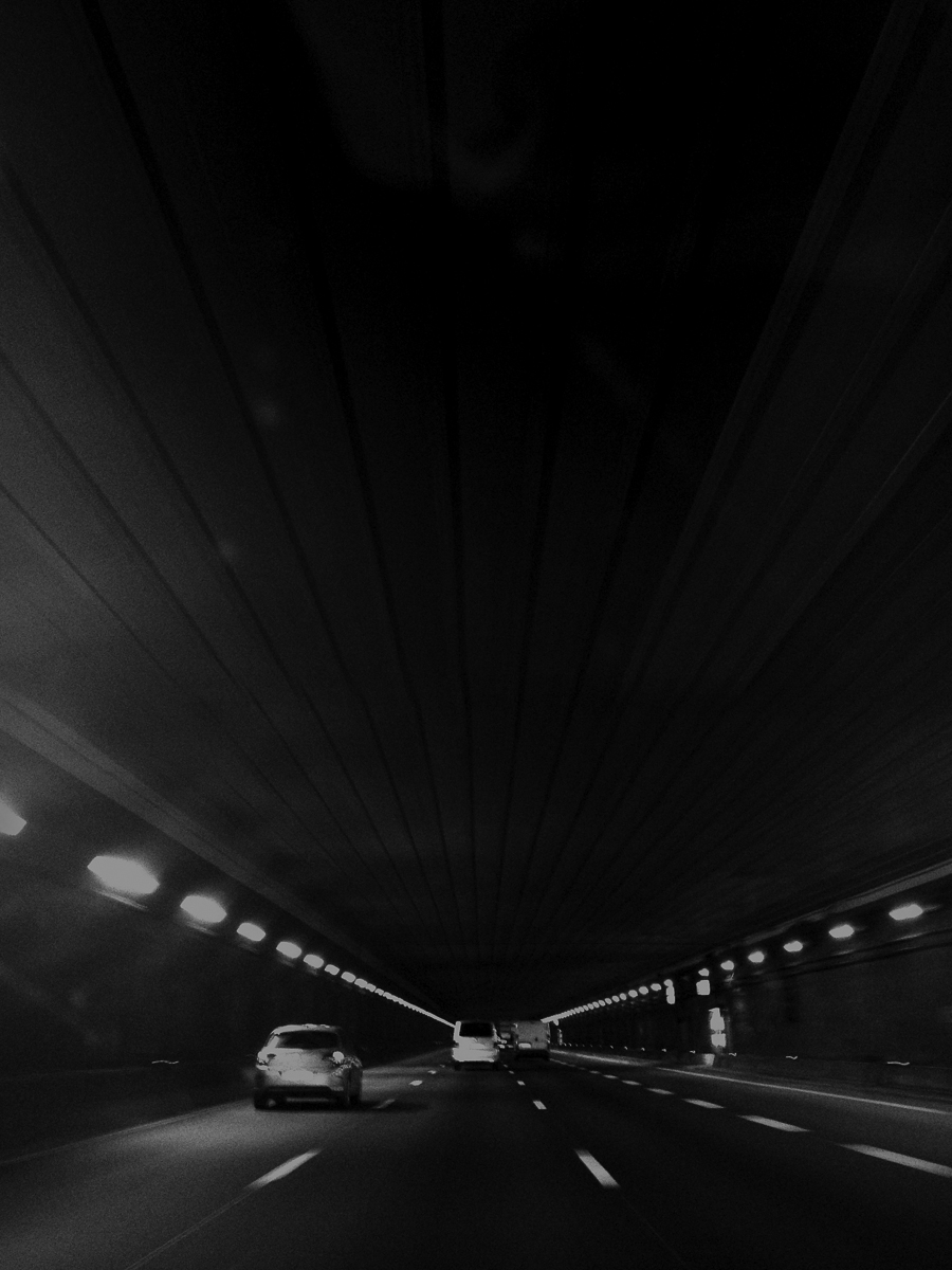 Projective Space Series by Liam Philley (liamphilley.com) -- paris car tunnel.jpg