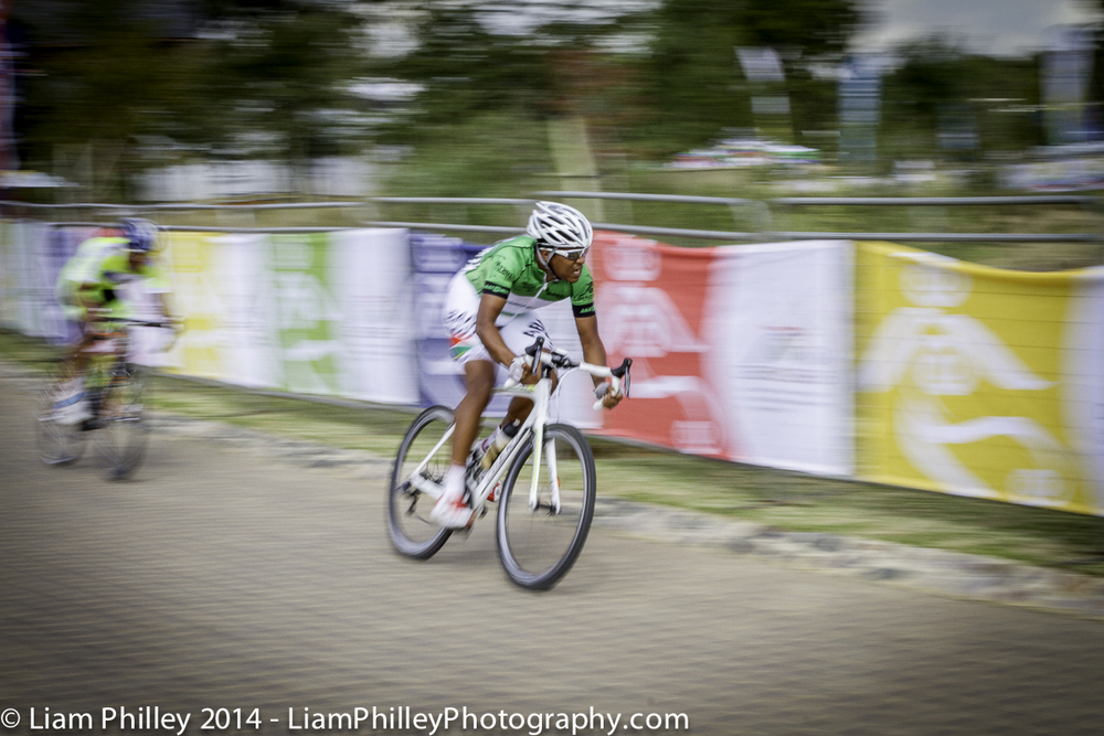 Hoffman cornering at Mzansi Tour Crit.jpg